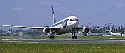 LOT 767 at take-off