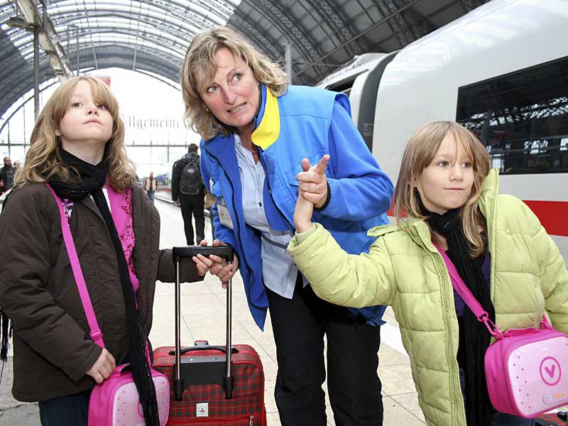 Children travel free in Germany