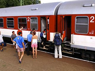 Group rail travel booking