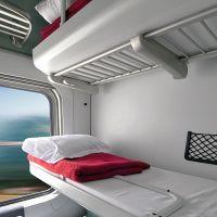 Couchette compartment (photo courtesy Wars)