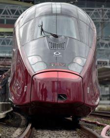 Italo high-speed train in Italy