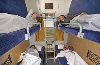 CNL couchette, photo courtesy DB Autozug