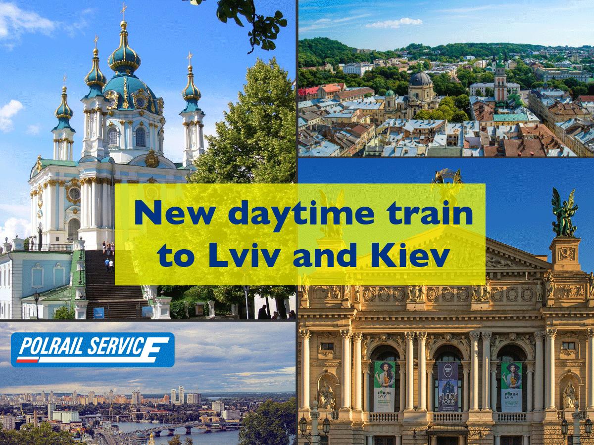 Train to Lviv and Kiev from Poland