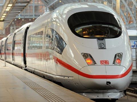 German ICE train