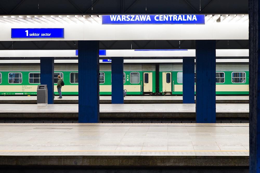 Warszawa Centralna main railway station