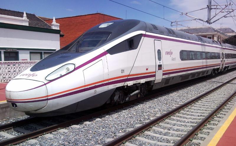 travel spain train