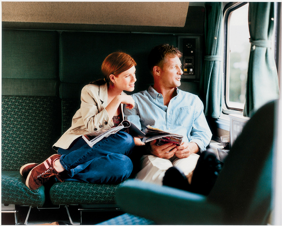 Train Travel In The Usa Comfort On Board An Amtrak
