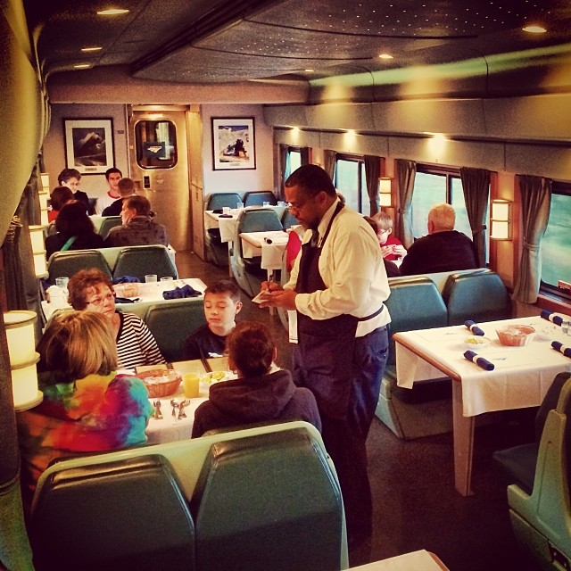 Comfort On Board An Amtrak