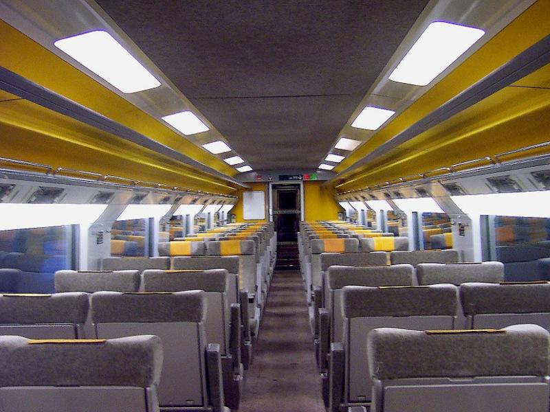 Standard class seats