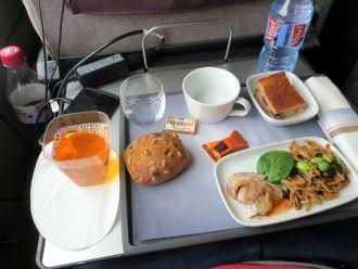 Premier class meal