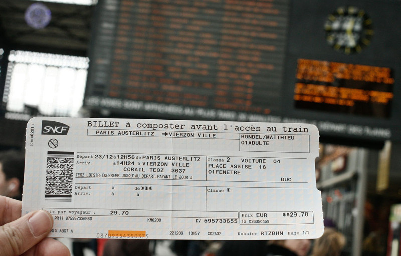 France Sncf Tickets French Rail Tickets From Polrail