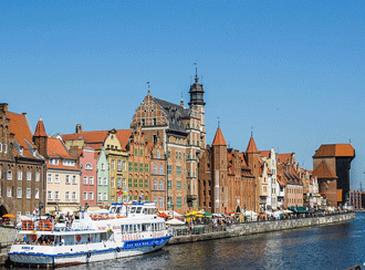 Gdansk Warsaw tickets train travel