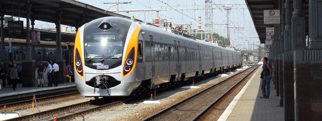 ukrainian train from poland to kiev