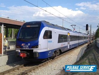 Train from Krakow to Berlin
