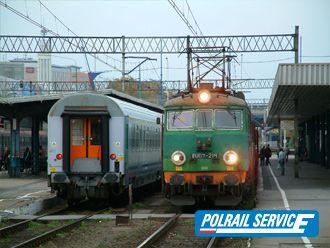 Warsaw to Kiev train