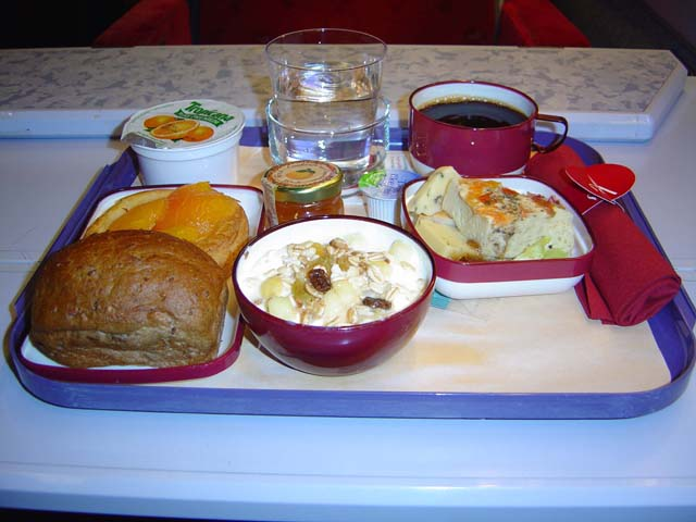 Thalys Comfort 1 meal