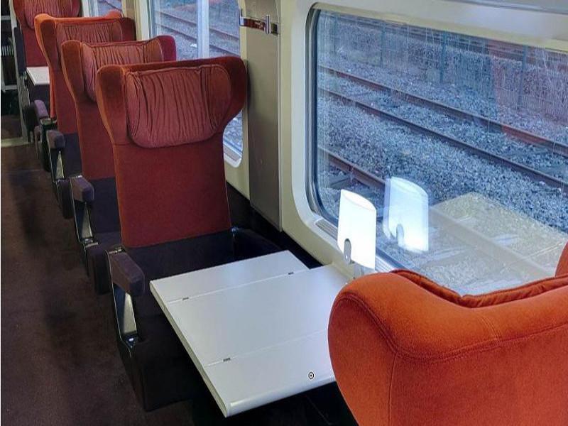 Thalys Comfort 1 seats