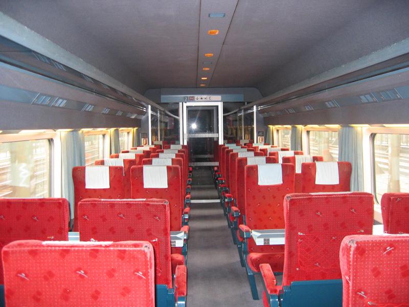 Thalys Comfort 2 seats