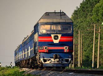 Pociąg na Ukrainie