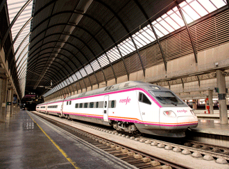 Highspeed train in Spain