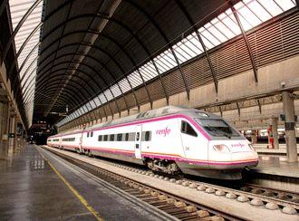 Highspeed train in Spain